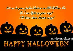 Halloween Wishes Sayings