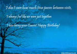 Search Results for: Cousin Birthday Quotes