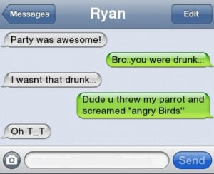 wasnt that drunk #iphone #text #quote #funny #lol #angry birds