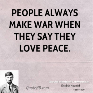 War and Peace Quote
