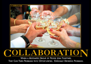 When a motivated group of people join together, they can turn problems ...