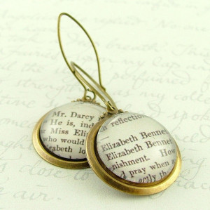 ... Elizabeth Bennet and Mr Darcy' - Jane Austen Literary Book Quote