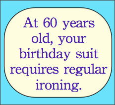 Funny 60th Birthday Quotes
