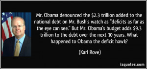 More Karl Rove Quotes