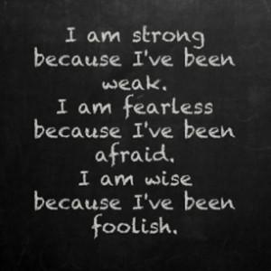 Strong, Fearless And Wise: Strong, Fearless And Wise ~ Inspirational ...