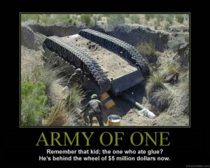 ARMY Dumb: In the Army, the Tank and Automotive Command manages small ...