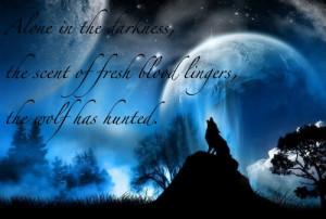 Lone Wolf Poem Lone wolf haiku photo