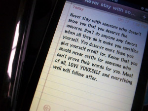 iphone, love, quote, quotes, someone, text, yourself