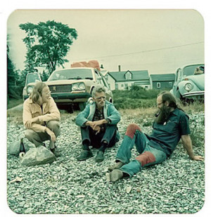 Taggart George Oppen and Ted Enslin Sylvester s Cove Maine 1975