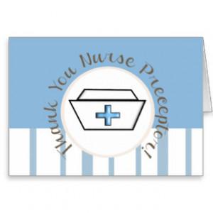 Nurse Preceptor Thank You Card