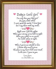 little girl quotes | Daddy's Little Girl picture by penandink1944 ...