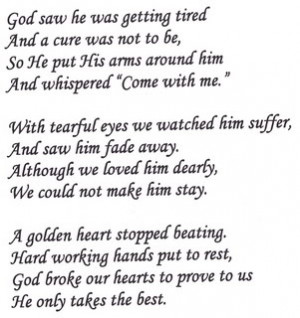 Rest In Peace Dad Poems Rip dad poems rip dad poems