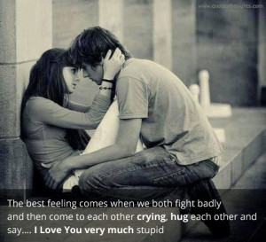 Love Quotes-Thoughts-The Best Feeling-Care-Fights-Best Quotes