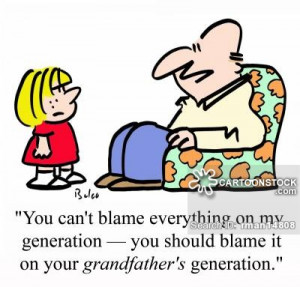generational cartoons, generational cartoon, funny, generational ...
