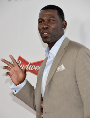 michael finley basketball palyer michael finley attends the premiere