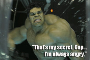 The Avengers' movie quote