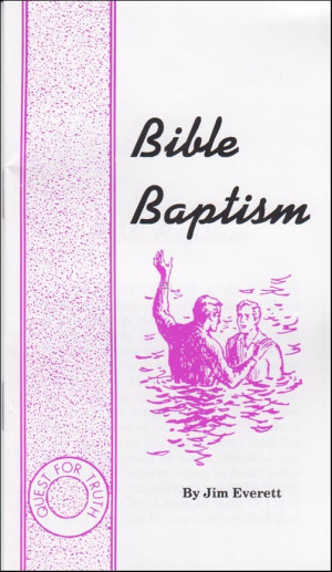 ... baptism be the first to review this product description bible baptism