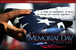 National Memorial day concert 2013: