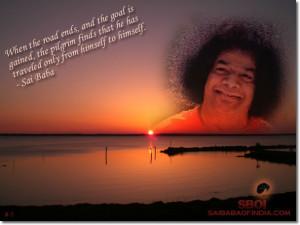 sri sathya sai baba and his ashram sai baba quotes