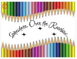 Somewhere Over the Rainbow | Wizard of Oz | Vinyl Wall Quote