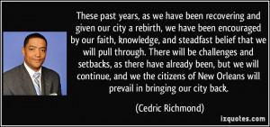 More Cedric Richmond Quotes
