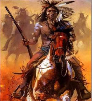 CHIEF CRAZY HORSE ON HORSEBACK contents