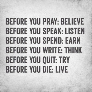 Before you... By Granger Smith