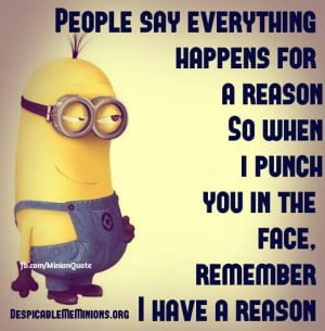 Despicable Me Minions Quotes