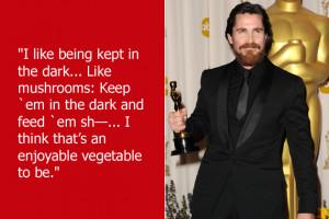 Batman' star Christian Bale likes long walks on the beach, sharing ...