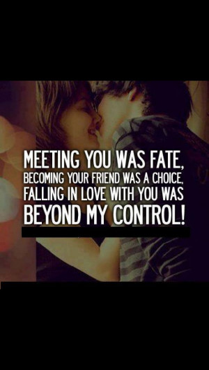 ... Romantic, Lovequotes, Meeting, Love Quotes, Fate, Friends Quotes