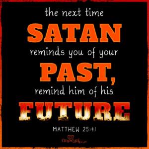 SATAN PAST AND FUTURE