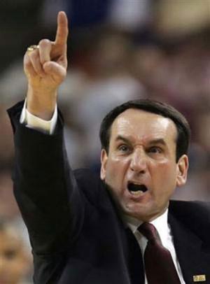 Mike Krzyzewski, seleccionador del equipo nacional de baloncesto de ...