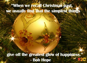 ... simplest things give off the greatest glow of happiness.