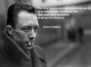 albert camus quotes deal the world