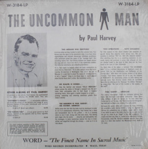 THE UNCOMMON MAN