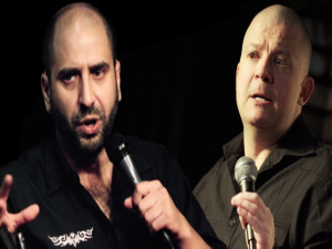 David Attel and Jim Norton foster fits of laughter on Las Vegas Strip