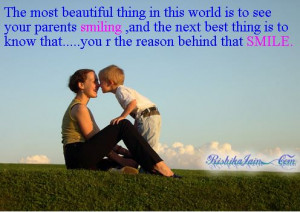Meaningful Pic With A Famous Parent's Day Quotes from Kids: The days ...