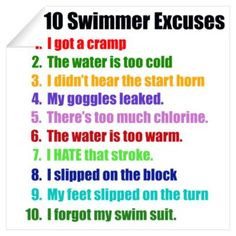 swimming sayings | CafePress > Wall Art > Wall Decals > Swimming ...