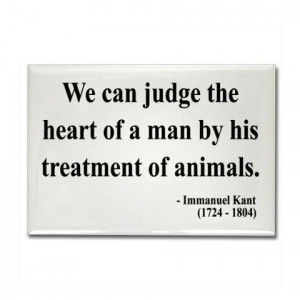 Immanuel Kant: Immanuel Kant, Animals Lovers, Animals Test Quote, True ...