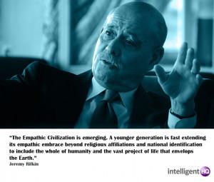 Quote by Jeremy Rifkin Intelligenthq