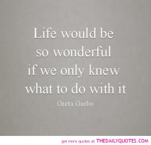 greta garbo quotes and sayings