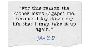 Agape Love in the Scriptures