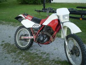 yamaha 4 stroke dirt bike