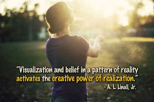 Visualization and belief in a pattern of reality activates the ...