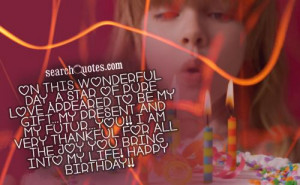 Giving Thanks Quotes For Birthdays