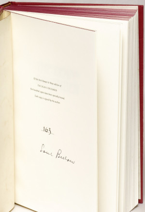 Dean's December Saul Bellow 1982 Fiction Signed 1st ed #84510