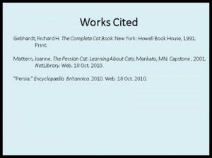 Sample MLA PowerPoint (ppt)