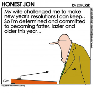 New year's resolution..