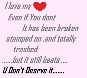 Broken Heart Quotes And Sayings For Him Broken heart q.