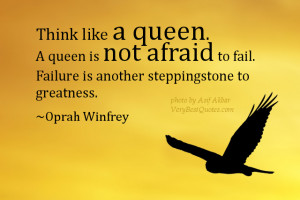 ... . Failure is another steppingstone to greatness. Oprah Winfrey quotes